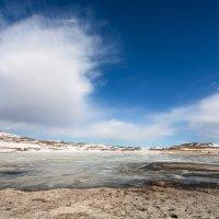 Озеро  в Тажеранской степи :: Анатолий Иргл