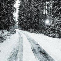элегантно снег идет :: Sony 2 Sony 2