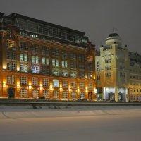 Зимний вечер :: М. Дерксен Derksen