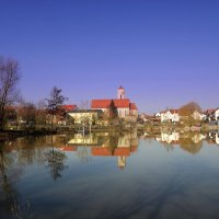 Пруд в деревне.. :: Эдвард Фогель