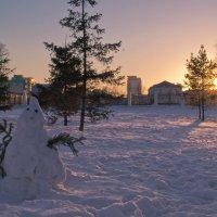 Мартовский снеговик. :: cfysx