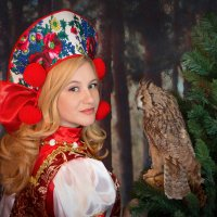 """""""Народные мотивы"""" :: Райская птица Бородина"""