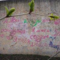 Почтальоны любви: заборы, стены, двери :: Алекс Аро Аро