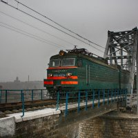 Поезд... :: Елена Кознова