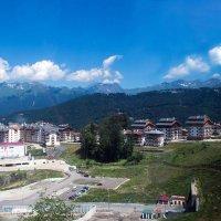 Горная Олимпийская деревня, Роза Хутор, Кавказские горы. :: Надежда