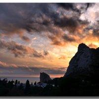 Закат над горой Кошкой :: Ольга Голубева