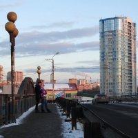 Мост вечерних свиданий :: Валерий Чепкасов