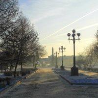 Утро...погасли фонари... :: nadyasilyuk Вознюк