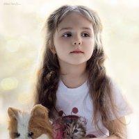 Девочка и кот :: Елена Нор