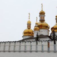 Купола в России кроют чистым золотом - :: Виктор Коршунов