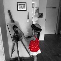 Маленькая художница :: Дарья Садовникова