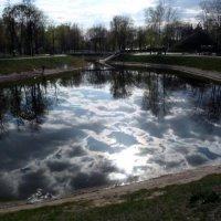 облака в озере :: Александр Прокудин