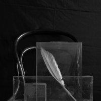 Натюрморт с коробкой и пером :: Владимир Безгрешнов