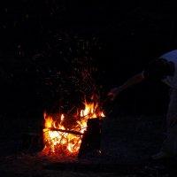 огонь для вечернего чая :: Александр Прокудин