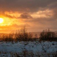 Вечер после мартовского снегопада. :: Сергей Щелкунов