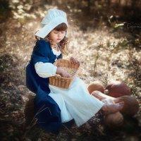 Золушка в коричневых тонах :: Ольга Егорова
