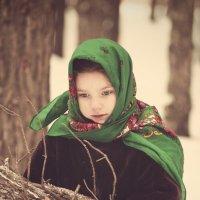 в лесу :: Елена Ленком