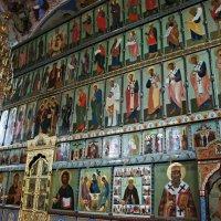 В Троицком соборе. Иконостас  с иконами конца XVII века :: Елена Павлова (Смолова)
