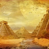 планета пирамид :: dex66