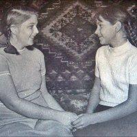 Подружки. 1965 год :: Нина Корешкова