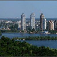 Левобережная панорама (г.Киев) :: Юрий Бойко