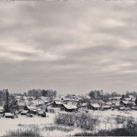 Вот моя деревня. :: Евгений Баркин
