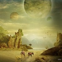 мир трёх лун :: dex66