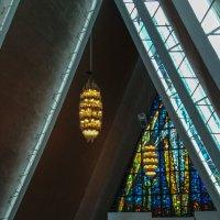 Интерьер Арктического собора в Тромсё :: Надежда Лаптева