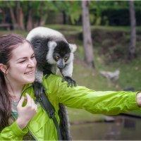 Селфи вдвоем!!! Мадагаскар!(случайный кадр)... :: Александр Вивчарик