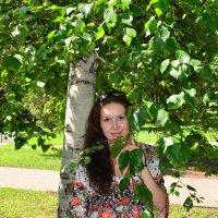Портрет около березы :: Сергей Тагиров