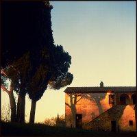 Тоскания, зактный пейзаж :: Геннадий Александров
