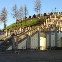 Белоруссия Витебск. Лестница к храму :: Надежда