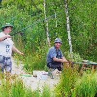 на рыбалке... :: александр дмитриев