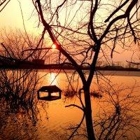 Закат на озере :: Natalia Babukh
