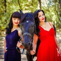 Неотразимые Татьяна и моя Валерия с Несравненным  Халифом !!!! :: Кристина Беляева