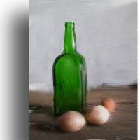 Этюд с зелёной бутылкой. :: Аnatoly Polyakov
