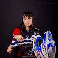 Мотогонщица :: Tatyana Smit