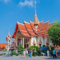 Буддийский храмовый комплекс Храм Ват Чалонг.Таиланд,Пхукет. :: Татьяна Калинкина