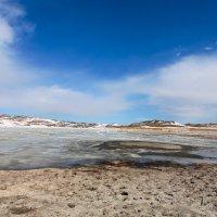 Солёное озеро в Тажеранской степи :: Анатолий Иргл