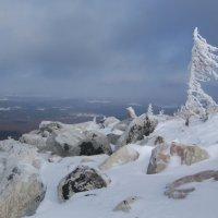 Циклон на перевале :: Олег  Царёв