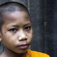 Молодой буддийский монах... :: Cергей Павлович
