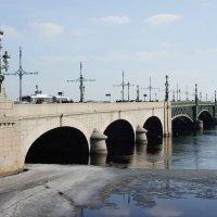 Троицкий мост :: Елена Павлова (Смолова)