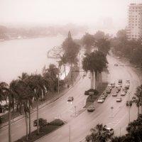 Майами, зима, дождь :: Сергей С