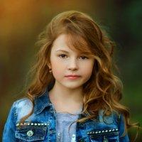 Моя девочка :: Ольга Малинина