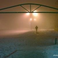 Туман в городе :: Владимир Филиппов