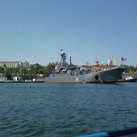 Корабль у пристани :: Дмитрий Никитин