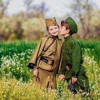 Военно-патриотическая фотосессия ,посвященная Великой победе! :: Ольга Радкевич