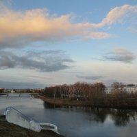 Великие Луки. Вид с крепости на реку Ловать и центр города... :: Владимир Павлов