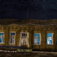 В театре теней, сегодня темно... :: Сергей