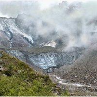 Дыхание ледника Сказский. Цейское ущелье. :: Олег Стасенко